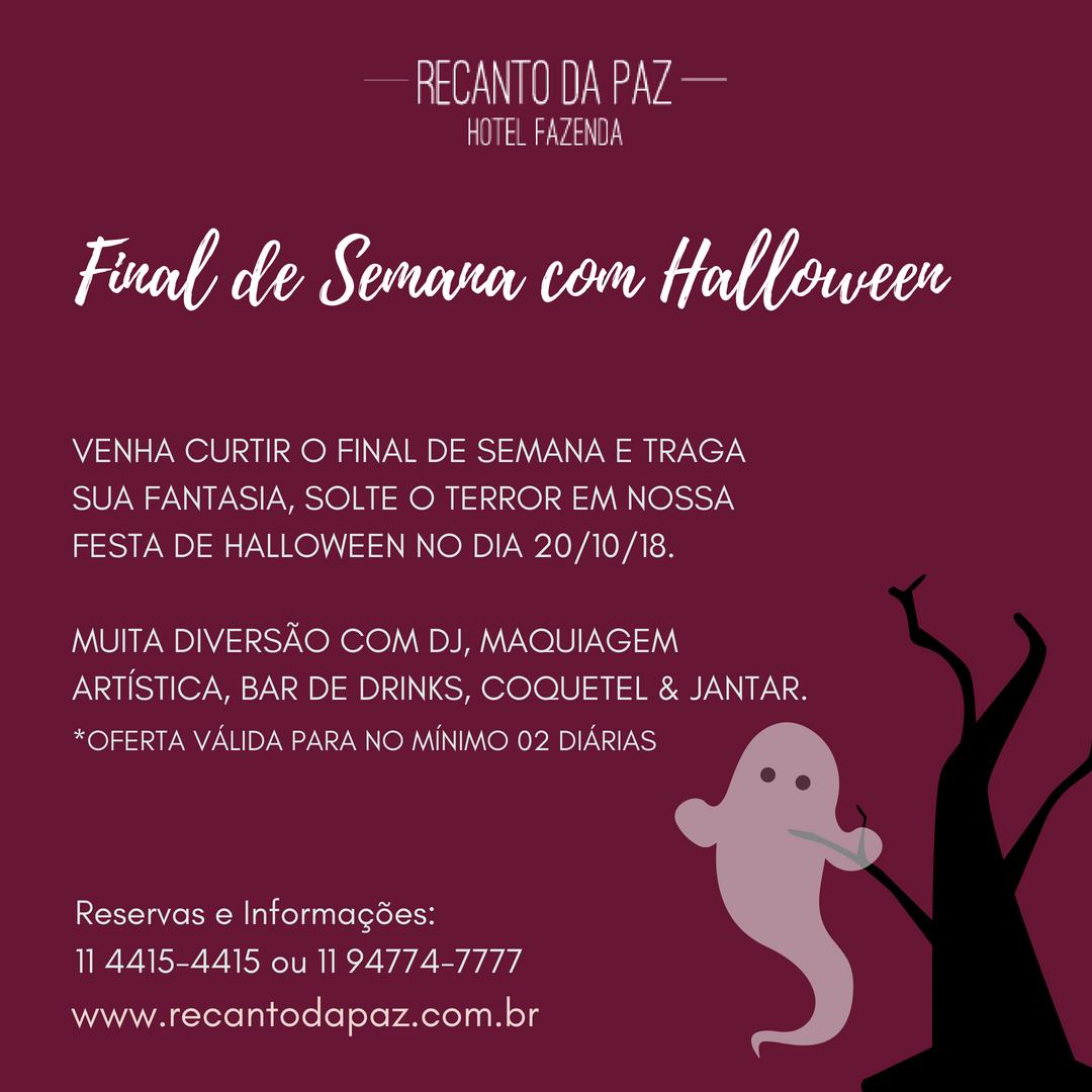 Final de Semana Halloween