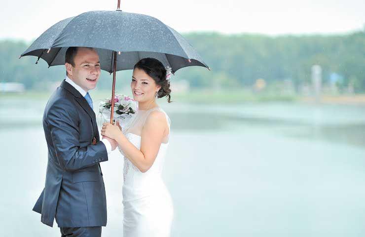 Recanto Paz - Casamento na chuva