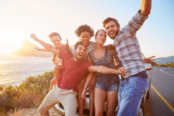 Os benefícios da viagem em grupo