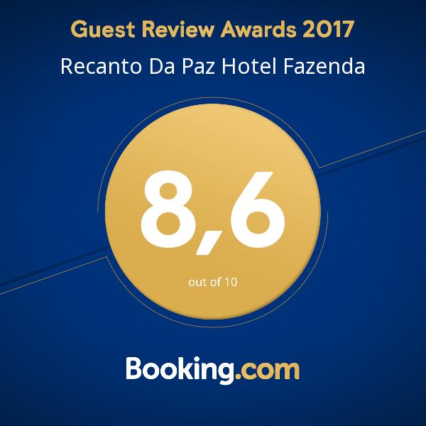 Recanto da Paz Hotel Fazenda Avaliação Booking